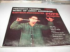 FREDERICK FENNELL MUSIC OF LEROY ANDERSON LP NM Mercury MG50130 1958