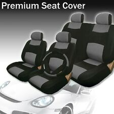 2004 2005 2006 2007 For Honda Civic Car Seat Cover Blk/Grey