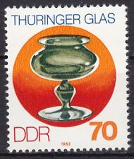 DDR Mi.-Nr. 2838 postfrisch Sperrwert 70 Pf. Thüringer Glas