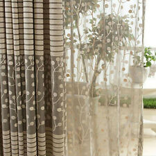 New Jacquard Warp Knitting Curtains For Window Living Room Sun-shading Curtain