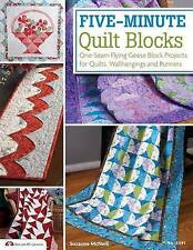 Five-Minute Quilt Blocks: One-Seam Flying Geese Block Projects for Quilts, Wallh