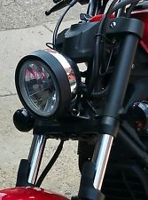 Yamaha Stryker Black Upper Fork Covers