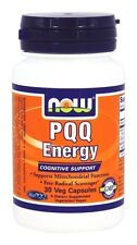 Now Foods PQQ ENERGY Immune Booster - 30 vcaps MITOCHONDRIAL & COGNITIVE SUPPORT