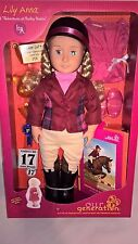 Our Generation Deluxe Doll Lily Anna Horse Riding Outfit Fits American Girl
