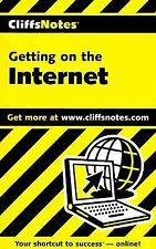 Getting on the Internet (Cliffs Notes) Paperback New