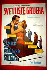 SANCTUARY 1961 LEE REMICK  YVES MONTAND TONY  RICHARDSON EXYU MOVIE POSTER