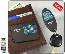 2-Way RF FOFA® Find One Find All® Key Finder and Flat Wallet, Cell Phone Locat