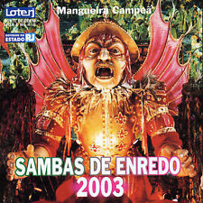 Various Artists Sambas De Enredo Do Carnaval 2003: Rio D CD