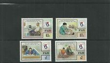 FIJI SG1010-1013 ASIAN AND PACIFIC DECADE OF DISABLED PEOPLE SET MNH