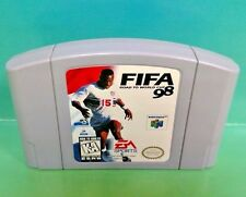 FIFA: Road to World Cup 98 - Nintendo 64 N64 Game - Rare and Fun Soccer