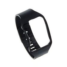 Schwarz Silikon Rubber Uhren Band weich Uhrenband für Samsung Galaxy Gear S R750
