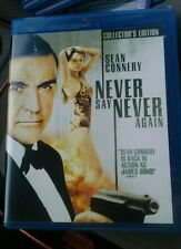 NEVER SAY NEVER AGAIN Sean Connery (Blu-ray) Authentic US Release Rare OOP