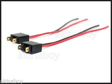 2 x H7 Male wire harness connectors plugs PAIR wiring