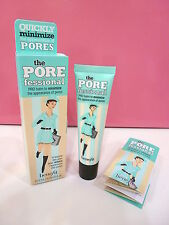 Benefit The Porefessional Pro Balm Foundation Primer .75 oz Full Size New in Box