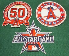 Los Angeles Angels of Anaheim Patch Lot California Pujols Trout 2010 All Star