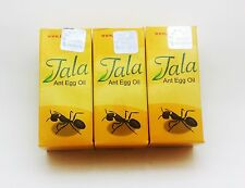 3 x Original Tala Ant Egg Oil for DIY Permanent Hair Reducing Removal