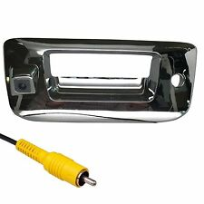 Chevrolet Silverado Sierra Chrome Tailgate Handle Color Backup Camera 2007-2013