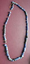 Ancient Lake Ladoga VIKING Artifact   String of 70+ Necklace Beads  AA42