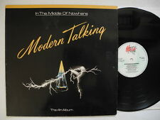MODERN TALKING In The Middle Of Nowhere LP 1986  danish MEGA