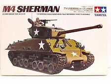 Tamiya 1/35 Scale M4 Sherman US Army Medium Tank M4-A3-E8 Motorized MT 118