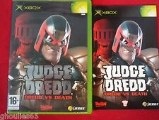 JUDGE DREDD DREDD VS DEATH XBOX JUDGE DREDD DREDD VS DEATH XBOX XBOX 360