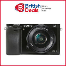 Sony Alpha a6000 Mirrorless Digital Camera Black 24.3MP with 16-50mm Lens WiFi