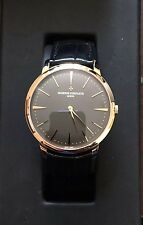 Vacheron Constantin Patrimony Grand Taille Pre Owned RARE 18K ROSE GOLD