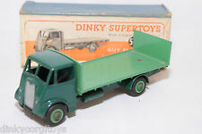 P DINKY TOYS 513 GUY FLAT TRUCK WITH TAILBOARD GREEN NEAR MINT BOXED RARE SELTEN