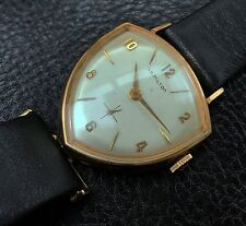 Vintage 1959 Hamilton Thor Watch -- Mechanical AND Asymmetric, 10K Gold-Filled