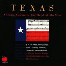 FREE SHIP. on ANY 2 CDs! NEW CD Various Artists: Texas: Musical Celeb One Hundre