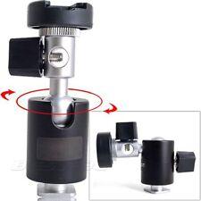 360 Degrés Support Pivotant Type c Flash Light Support Base Stable pour Camera
