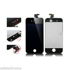 KIT TOUCH SCREEN VETRO LCD DISPLAY NERO PER APPLE IPHONE 4 A1332 TOUCHSCREEN