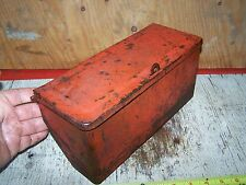Old FORD 9N 2N 8N Tractor Toolbox Farm Hit Miss Engine Steam Magneto Oiler WOW