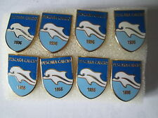 lotto 8 pins lot PESCARA CALCIO FC club spilla football pins badge spille