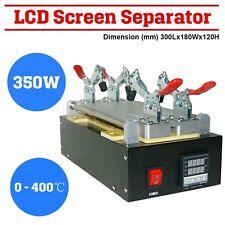 Teléfono móvil LCD pantalla separador máquina cristal reparación eliminación