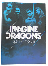 IMAGINE DRAGONS 2014 TOUR BOOK FULL COLOR OFFICIAL BRAND NEW RARE PROGRAM