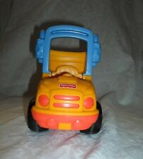 """FISHER PRICE LITTLE PEOPLE DUMP TRUCK 2001 Heavy Duty Vehicles Toy 8"""" x 7"""""""