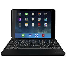 New Zagg Keyboard Folio Case for Apple iPad Air 2 - Black