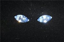 Lane & Co Siamese Cats TV Lamp Genuine Swarovski Eyes Sapphire Blue