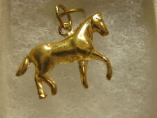 A NEW Portuguese 19.2 KT GOLD HORSE CHARM FROM PORTUGAL # 03-183