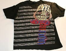 ENYCE By Sean Combs Black Graphic Print T-Shirt Size XL Mens
