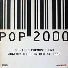 POP 2000 50 Jahre Musik in Deutschland, 8CD Box-Set + Buch, Neuwertig!