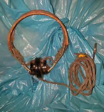 CUFFIE HEADPHONES US ARMY WW2 GUERRA MONDIALE RECEIVER R-14
