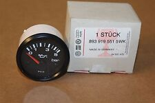 Early Audi 80 Coupe Oil Pressure Guage 0.5bar 8939195515WK New genuine VW part