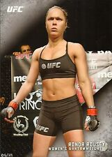 Ronda Rousey UFC 2015 Topps Knockout 10x14 Card #d 4/49 157 168 170 175 184 190