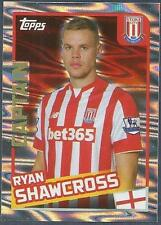 TOPPS 2016 PREMIER LEAGUE #350-STOKE CITY-CAPTAIN-RYAN SHAWCROSS