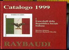 Catalogo Francobolli della Repubblica Sociale Italiana Raybaudi