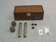 Vintage Altec Model 626A, Electret Condenser Microphones,  Omni & Cardiod, AS IS