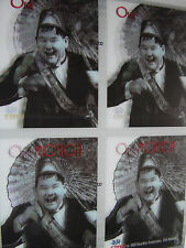 Ollie Motion Card - Prototype / Test sheet - 4 Uncut Card Lenticular Fronts