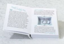 PERSONALIZED White Wedding Ring Book Box Wedding Ring Pillow Alternative